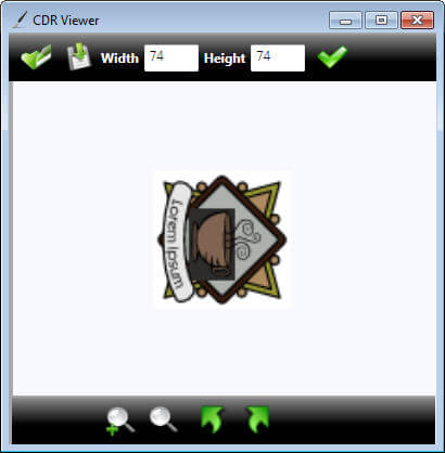 CDR Viewer Screenshot 2